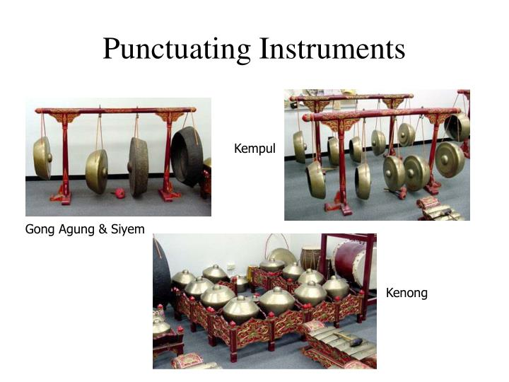 Punctuating Instruments