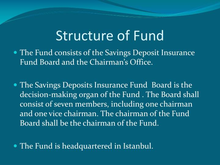 Structure of Fund