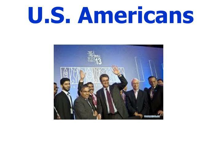 U.S. Americans