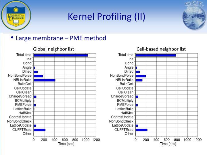 Kernel Profiling (II)