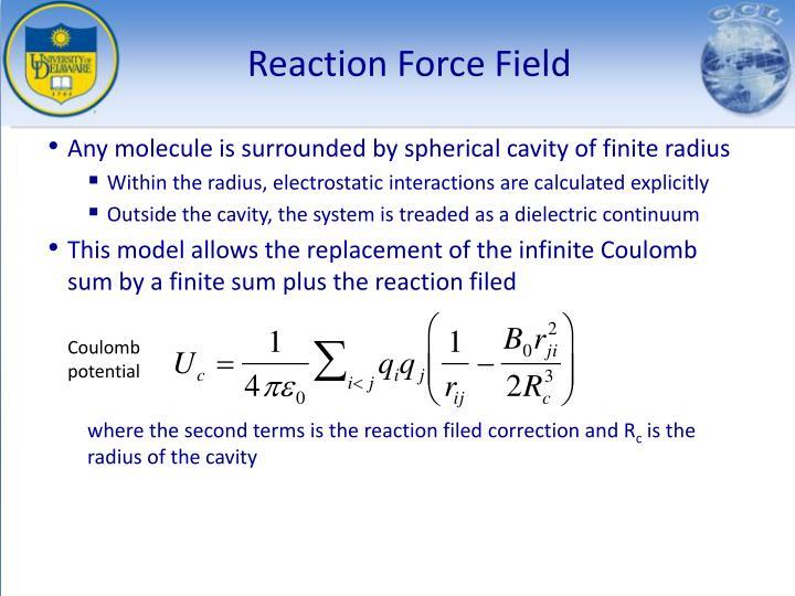 Reaction Force Field
