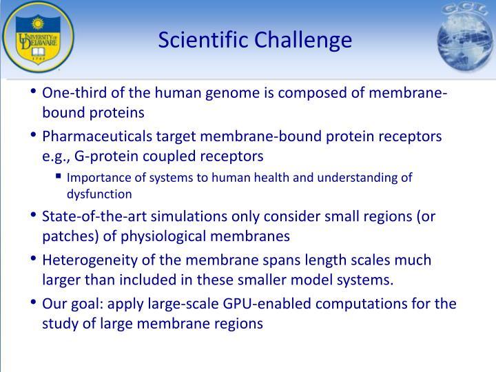 Scientific Challenge
