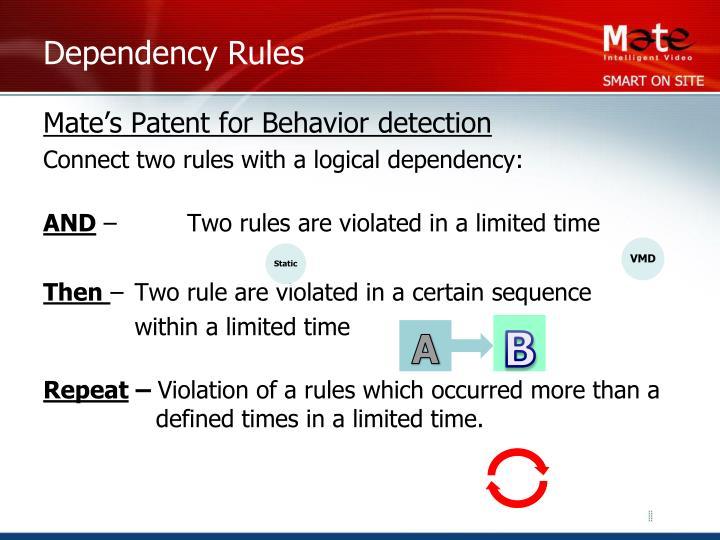 Dependency Rules