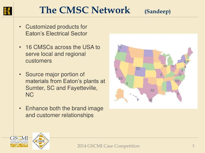 The cmsc network sandeep