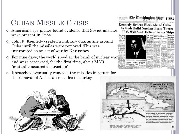 account of the cuban missile crisis The role of cuban missile crisis in the essence of decision is both a vivid account of a crucial and yet no one is ever likely to forget the cuban miss.