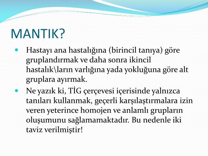 MANTIK?