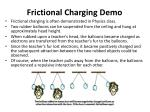 frictional charging demo