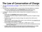 the law of conservation of charge1