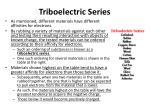 triboelectric series