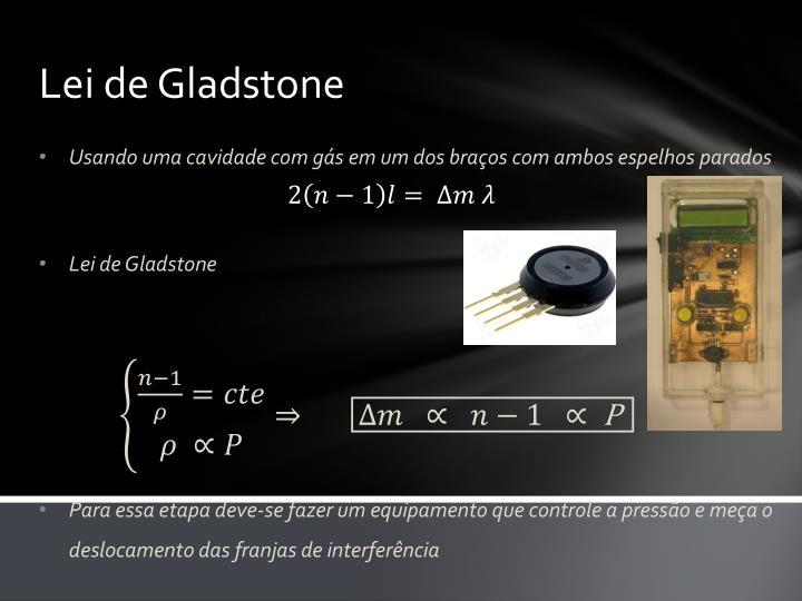 Lei de Gladstone