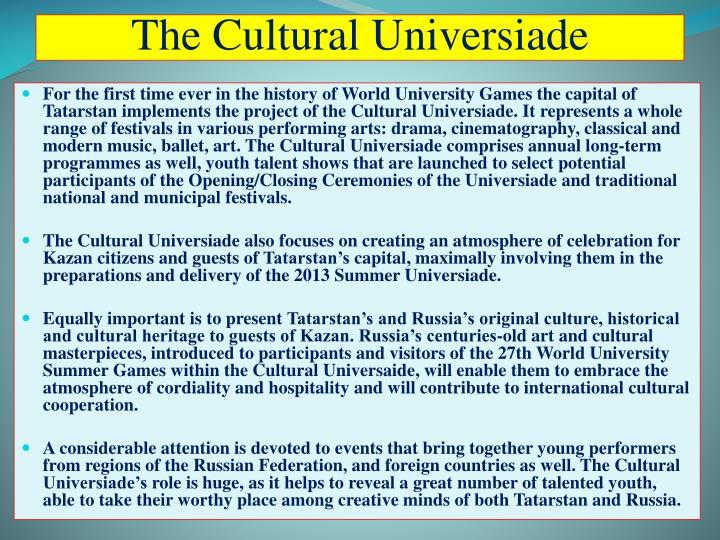 The Cultural