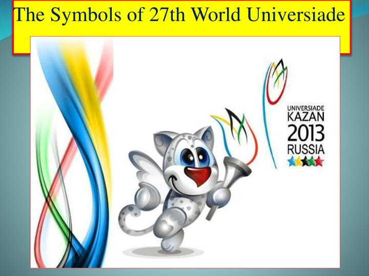 The Symbols of 27th World