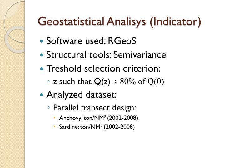 Geostatistical