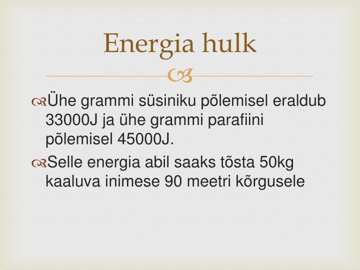 Energia hulk