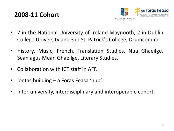 2008-11 Cohort