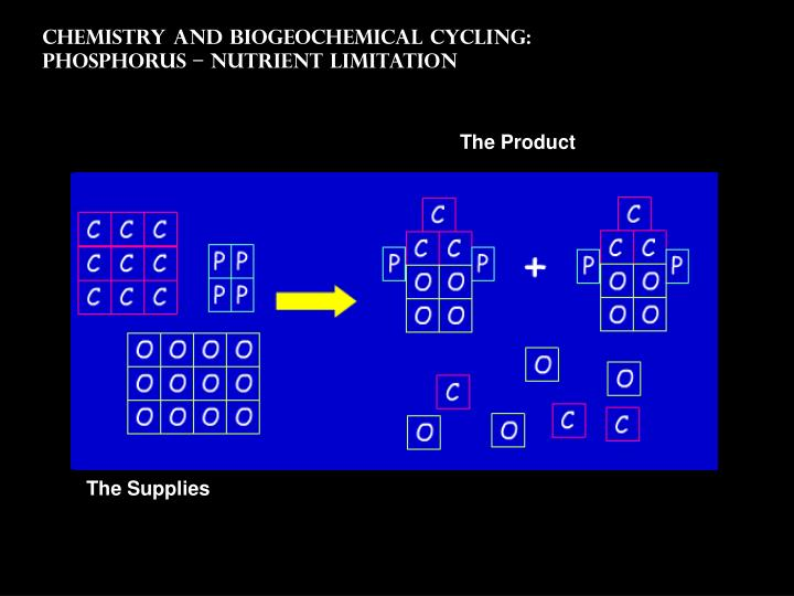 Chemistry and Biogeochemical Cycling: