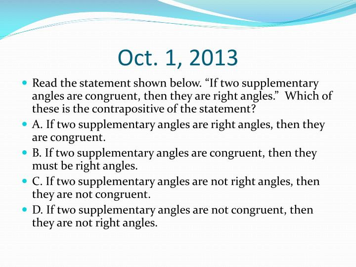 Oct. 1, 2013
