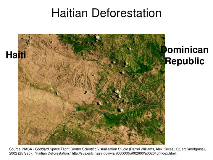 Haitian Deforestation