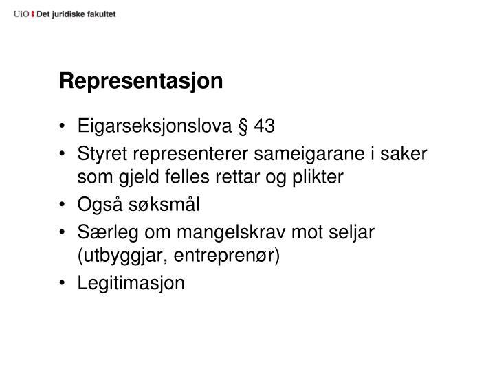 Representasjon