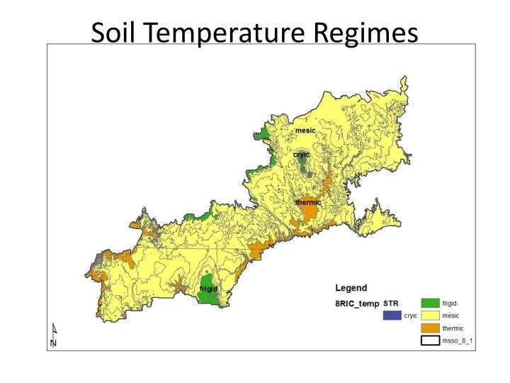 Soil Temperature Regimes