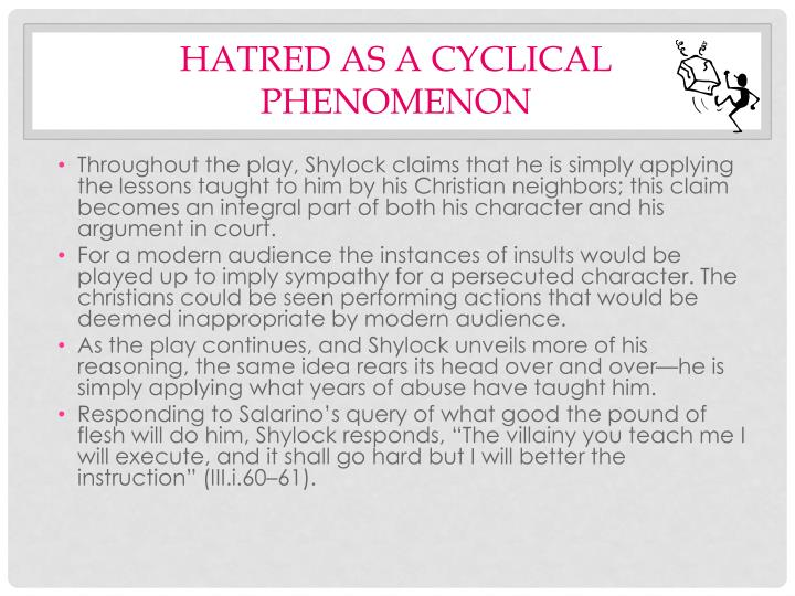 Hatred as a Cyclical Phenomenon