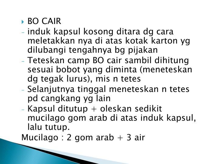 BO CAIR