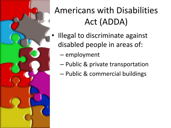 Americans with Disabilities Act (