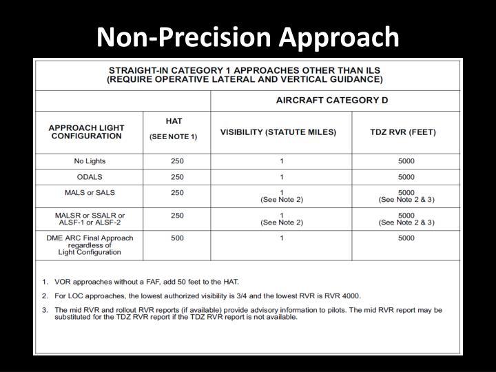 Non-Precision Approach