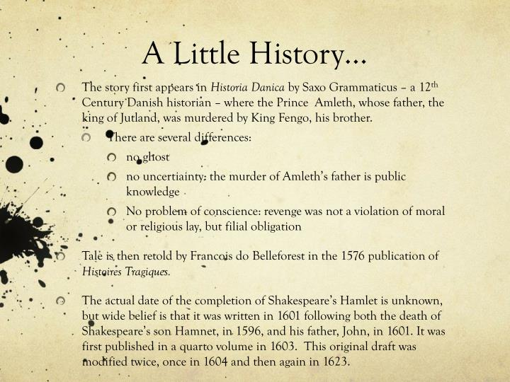 A Little History…