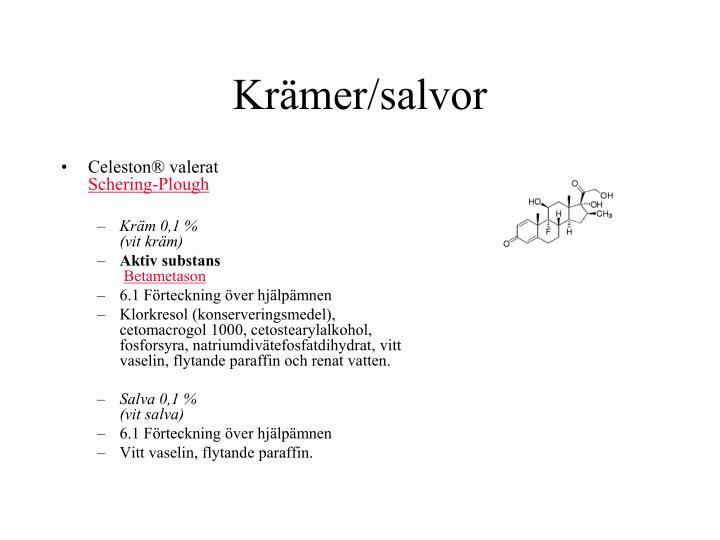 Krämer/salvor