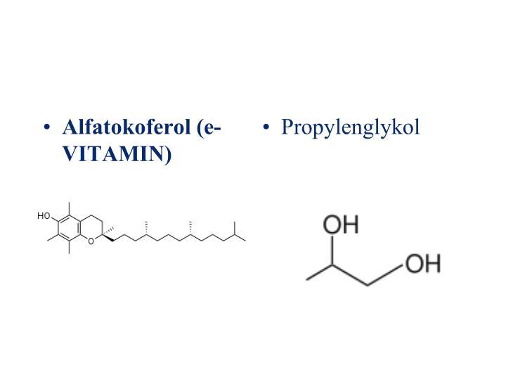 Alfatokoferol (e-VITAMIN)