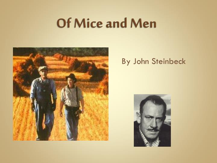 compare and contrast of mice and men book and movie The similarity between the book and the film of mice and men is most evident even so, there are a few differences, some insignificant and other crucial however, in the majority of the scenes, the dialogs are taken literally from the book.