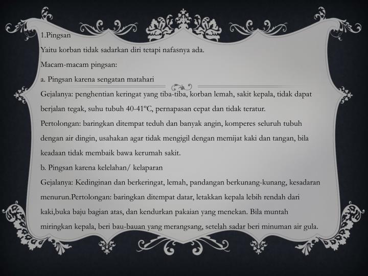 1.Pingsan