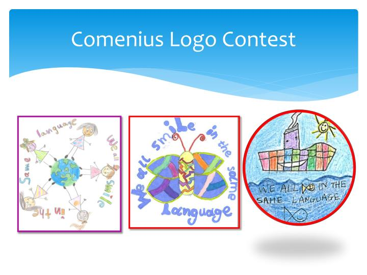 Comenius logo contest1