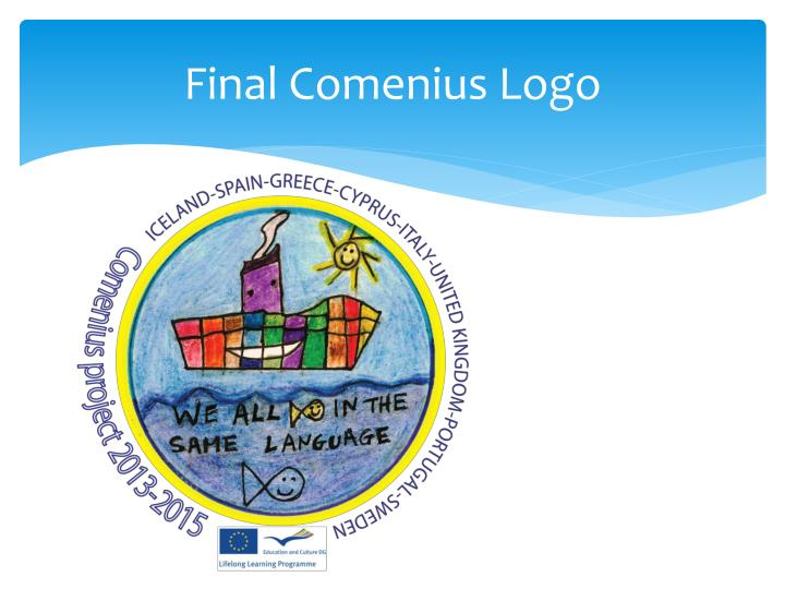 Final Comenius Logo