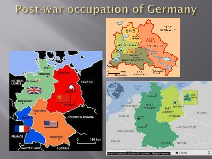 Post-war occupation of Germany