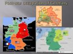 post war occupation of germany