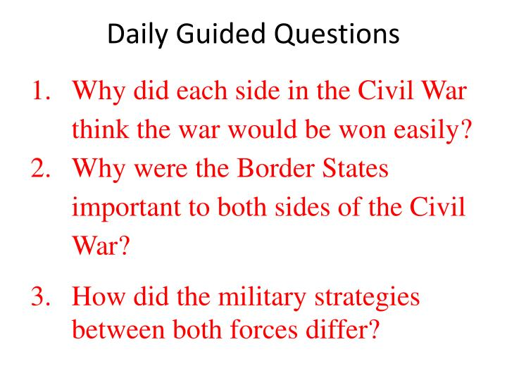 Daily Guided Questions