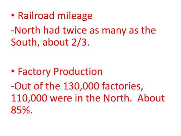 Railroad mileage