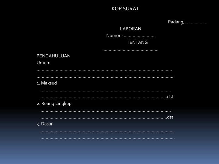 Padang, ……………..