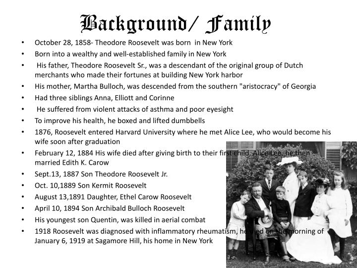 Background/ Family