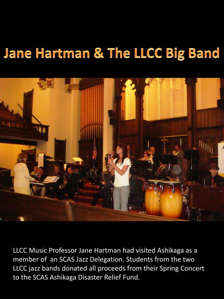 Jane Hartman & The LLCC Big Band