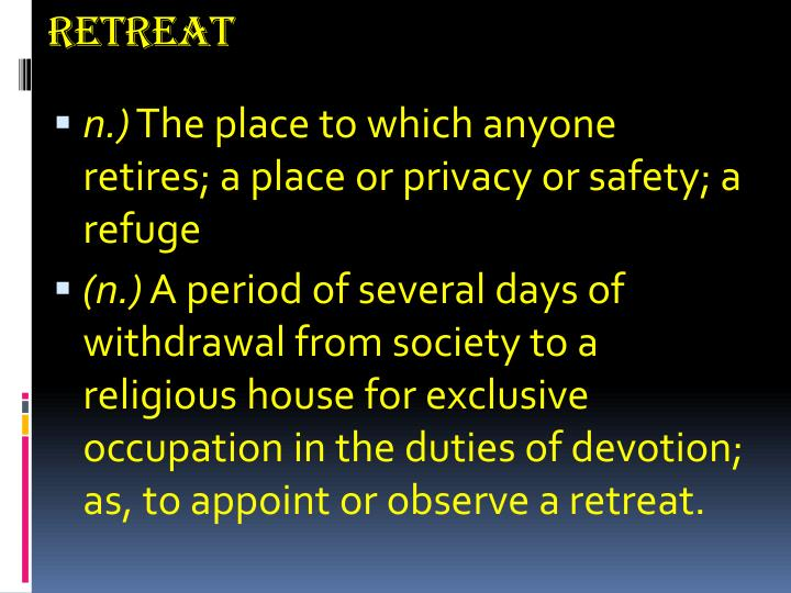 Retreat1