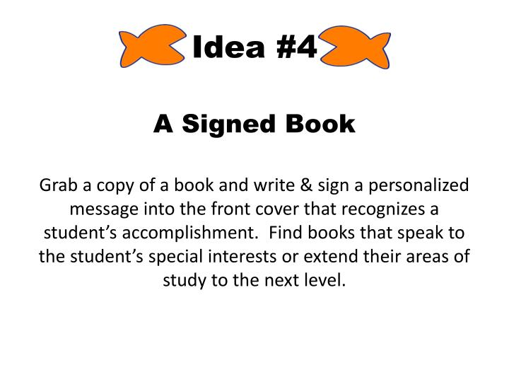 Idea #4