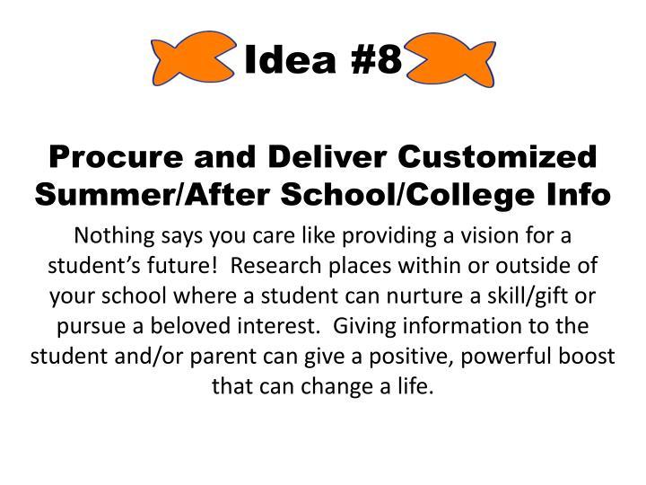 Idea #8