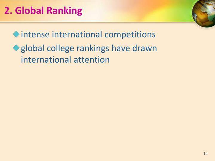 2.Global Ranking