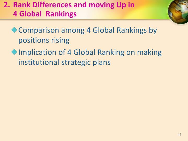 2.Rank Differences and moving Up in