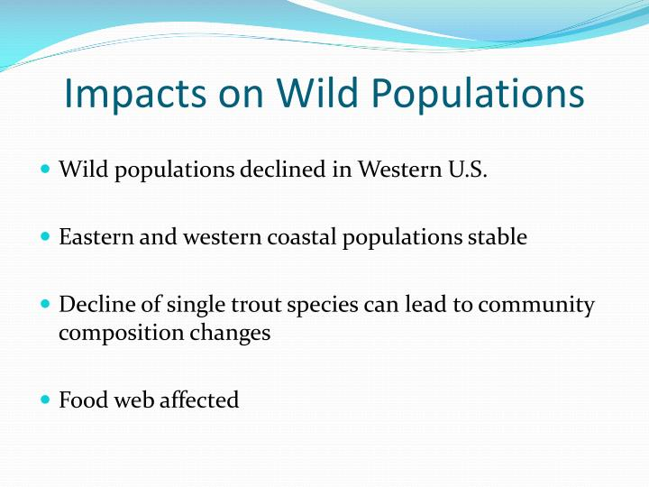 Impacts on Wild Populations