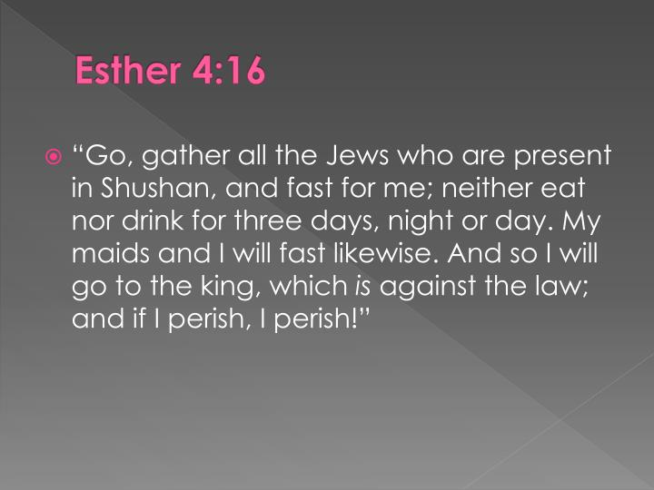 Esther 4:16