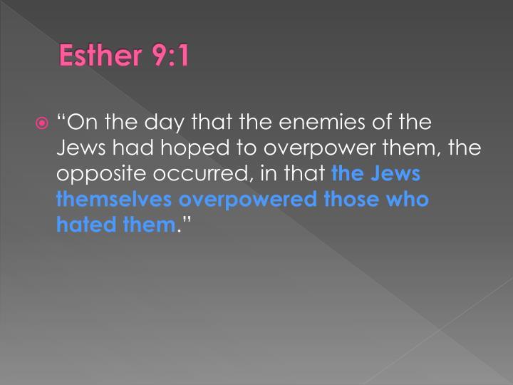 Esther 9:1